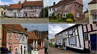 Rumah-rumah ini memiliki struktur yang tidak berdiri tegap layaknya rumah biasa.