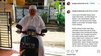 Vespa kenangan Ustaz Tengku Zulkarnain (Instagram/tengkuzulkarnain.id)