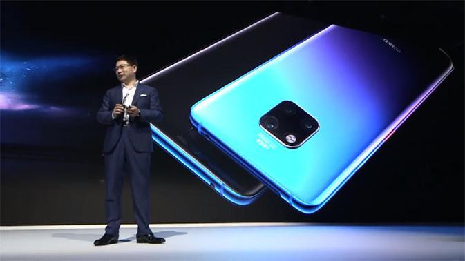 Huawei resmi luncurkan Mate 20 dan Mate 20 Pro di London, Inggris. (Doc: Huawei)