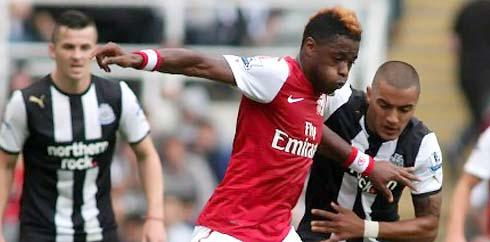 Alex Song (AFP PHOTO/IAIN BUIST)