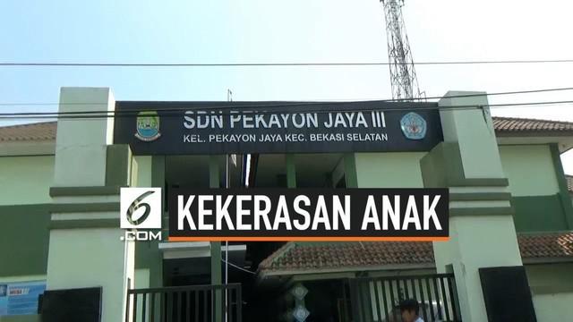 Video amatir kekerasan yang dilakukan siswa di SD Pekayon 3, Bekasi, Jawa Barat viral di sosial media.
