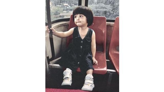 Potret masa kecil Nikita Willy terlihat begitu menggemaskan.