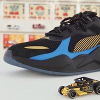 Puma melansir sneakers dengan siluet Hotwheels dan Transformer (Foto: Instagram/hotwheels_indo)