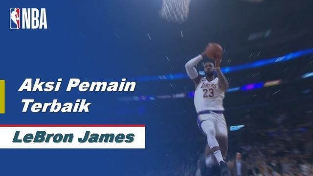 Berita Video Aksi Terbaik LeBron James Saat La Lakers Kalahkan Phoenix Suns di NBA 117-107