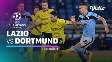 Berita Video Ciro Immobile berhasil bawa Lazio unggul atas Borussia Dortmund di matchday 1 Liga Champions