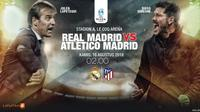 Real Madrid vs Atletico Madrid (Liputan6.com/Abdillah)