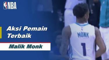 Berita Video Malik Monk curi perhatian saat Hornets kalahkan Sacramento Kings di NBA, 110-102