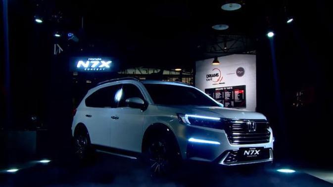 Membedah Honda N7X, Calon SUV Low baru Honda