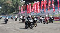 PT Astra Honda Motor (AHM) bersama dengan jaringan main dealer dan Asosiasi Honda CBR (AHC) kembali menggelar Indonesia CBR Raceday (ICE Day) 2018 di Sentul Internasional Circuit pada 9 Desember 2018.
