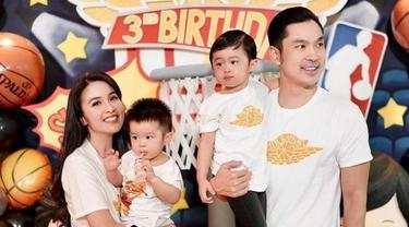 Sandra Dewi merayakan ultah anaknya (Instagram)