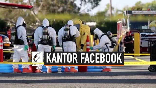 Empat gedung Facebook di Silicon Valley dievakuasi karena diduga terjadi penyebaran sarin. Dua orang dilaporkan terpapar zat yang bisa merusak kerja sistem saraf itu.