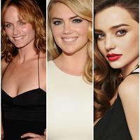 Miranda Kerr, Kate Upton, dan Amber Valletta (kolase by Bintang Pictures)