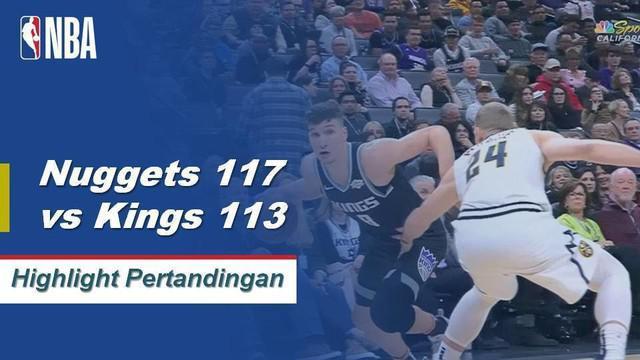 Jamal Murray mencetak 36 poin dan menambahkan tujuh rebound ketika Nuggets menjatuhkan Kings.