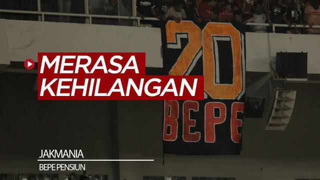 Berita video beberapa Jakmania mengungkapkan rasa kehilangan mereka terhadap Bambang Pamungkas, yang memutuskan pensiun setelah pertandingan Persija Jakarta vs Persebaya Surabaya di SUGBK.