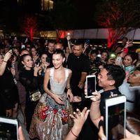 Bella Hadid dalam acara makan malam eksklusif Tag Heuer di Kuala Lumpur, Malaysia. Sumber foto: PR.