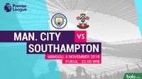 Premier League Manchester City Vs Southampton (Bola.com?Adreanus Titus)