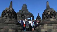 PT Taman Wisata Candi Borobudur, Prambanan, dan Ratu Boko menaikkan harga tiket masuk terhitung 1 Mei 2017. (Liputan6.com/Switzy Sabandar)