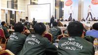 Relawan pasangan nomor urut 01 Joko Widodo-Ma'ruf Amin mengklaim telah memikat hati massa mengambang (swing voters) di Jawa Barat. (Liputan.com/Achmad Sudarno)