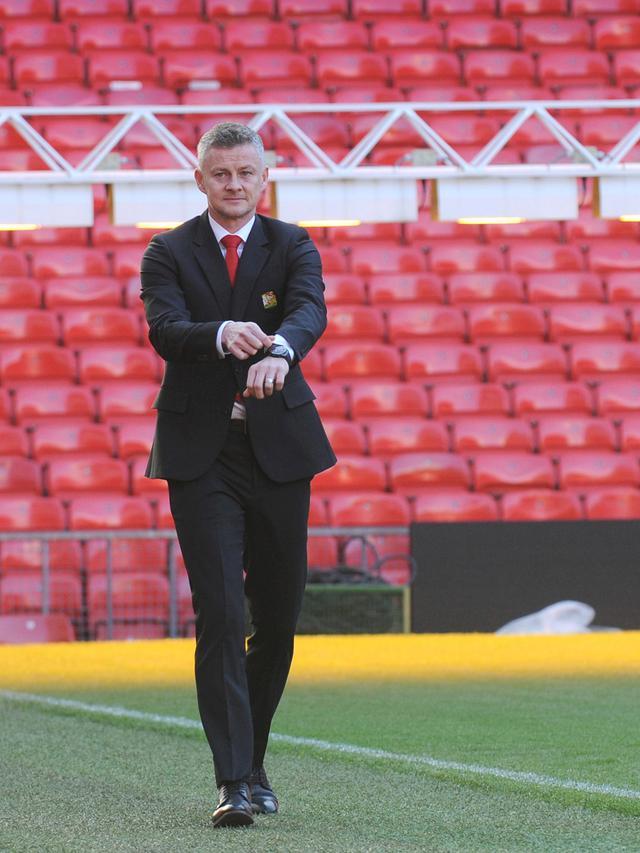 Senyum Ole Gunnar Solskjaer Jadi Pelatih Tetap Manchester United