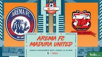 Shopee Liga 1 - Arema FC Vs Madura United (Bola.com/Adreanus Titus)