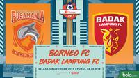 Shopee Liga 1 - Borneo FC Vs Badak Lampung FC (Bola.com/Adreanus Titus)