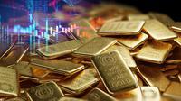 Ilustrasi emas. (Shutterstock)