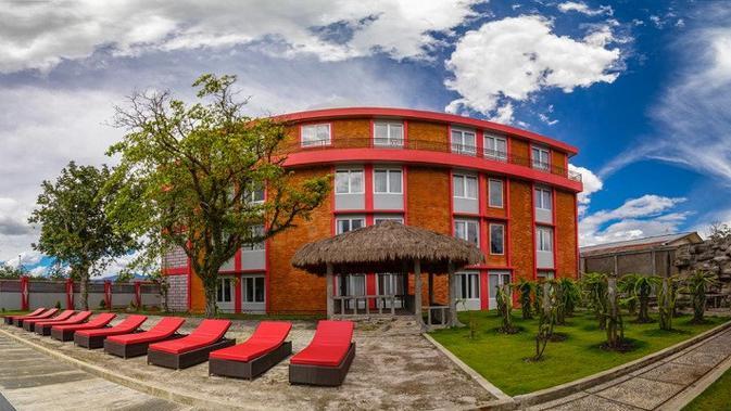 Hotel Grand Baliem Wamena tawarkan kemegahan di Pegunungan tengah Papua (Liputan6.com/Katharina Janur/Tarsi)