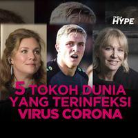 5 Tokoh Dunia Ini Positif Terinfeksi Virus Corona