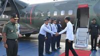 Presiden Joko Widodo (Jokowi) atau Jokowi melakukan kunjungan kerja ke Kabupaten Cilacap, Jawa Tengah. Dok Setneg