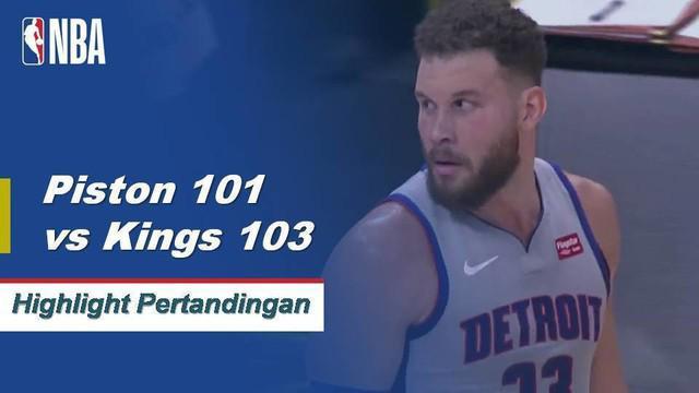 Buddy Hield mencetak 35 poin termasuk tembakan tiga angka yang menang di bel saat sang Raja mendapatkan kemenangan atas Pistons.