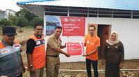 Shopee bersama Rumah Zakat resmikan Hunian Sementara di Palu. (Liputan6.com/Henry)