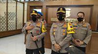 Irjen Pol Nico Afianta resmi jabat sebagai Kapolda Jawa Timur. (Foto: Liputan6.com/Dian Kurniawan)