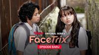Rebecca Klopper dan Bastian Steel dalam Vidio Original Series Facetrix. (Dok. Vidio)