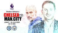 CHELSEA FC VS MANCHESTER CITY (Liputan6.com/Abdillah)