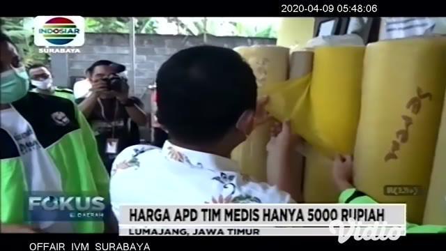 Sejumlah pemilik usaha konveksi rumahan di Kabupaten Lumajang Jawa Timur beralih memproduksi alat pelindung diri atau APD untuk petugas medis sejak sepekan terakhir. Salah satunya adalah usaha konveksi rumahan milik Amel di Desa Klanting Kecamatan Su...