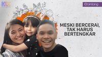 Marshanda, Sienna dan Ben Kasyafani. (Foto: Instagram: benkasyafani/DI: Muhammad Iqbal Nurfajri/Bintang.com)