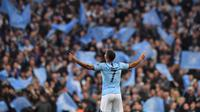 7. Raheem Sterling (Manchester City) - 17 Gol. (AFP/Anthony Devlin)