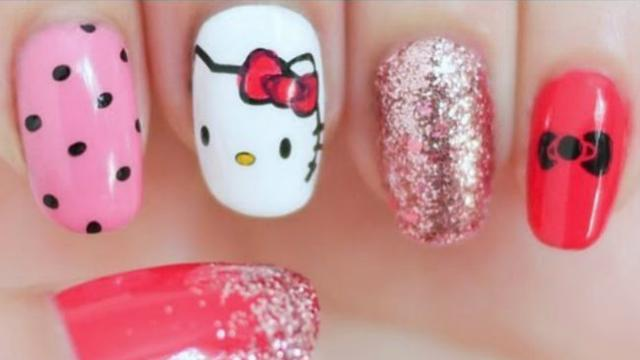 Hello Kitty Mini Di Kuku Buat Anda Yang Ingin Tampil Girly Fashion
