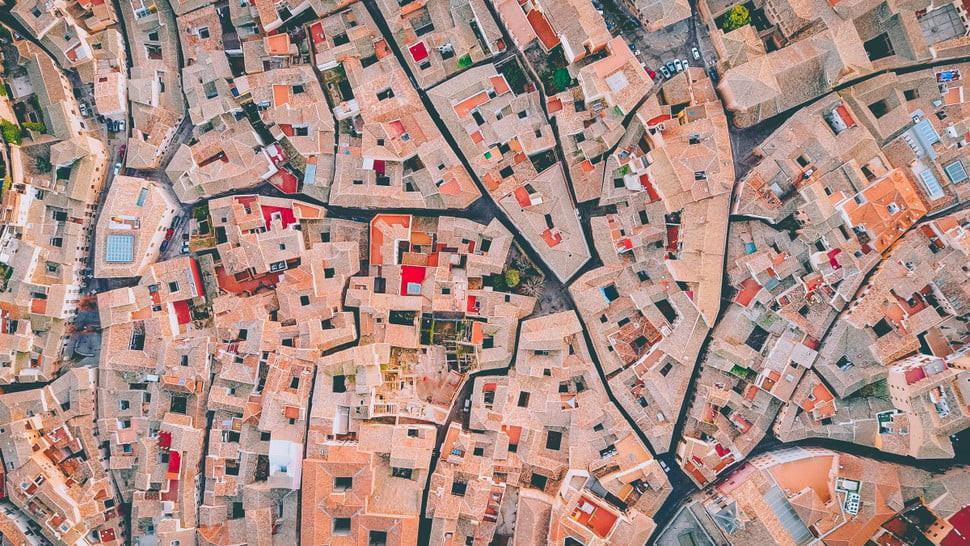 Toledo, Spanyol. (Martin Sanchez/Dronestagram)