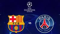 Liga Champions - Barcelona Vs PSG (Bola.com/Adreanus Titus)