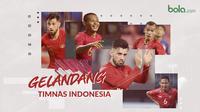 Gelandang Timnas Indonesia. (Bola.com/Dody Iryawan)