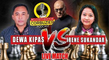 Duel WGM Irene Sukandar Vs Dadang Subus alias Dewa Kipas