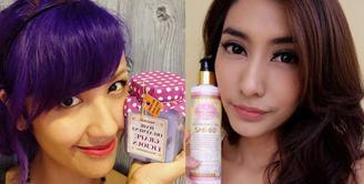Artis cantik Tyas Mirasih dan Sharena Gunawan kerap kali diendorse oleh berbagai produk. Bahkan di antara kedua selebriti ini menjuluki dirinya sebagai Ratu Endorse. (via instagram/@tyasmirasih - @endorsesharena)