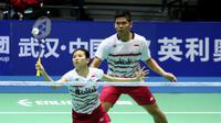 Ganda campuran Indonesia, Praveen Jordan/Debby Susanto, menjadi satu-satunya wakil Merah-Putih yang tersisa pada babak perempat final Kejuaraan Asia Bulutangkis 2017 di Wuhan, China. (PBSI)