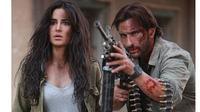 Saif Ali Khan dan Katrina Kaif dalam adegan film Phantom