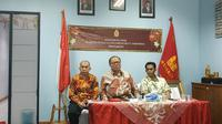 Ketua Umum Matakin Ws Budi Santoso Tanuwibowo berharap Presiden Jokowi hadir di perayaan Imlek 2020. (Liputan6.com/Winda Nelfira)