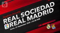 Real Sociedad vs Real Madrid (Liputan6.com/Abdillah)