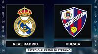La Liga - Real Madrid Vs Huesca (Bola.com/Adreanus Titus)