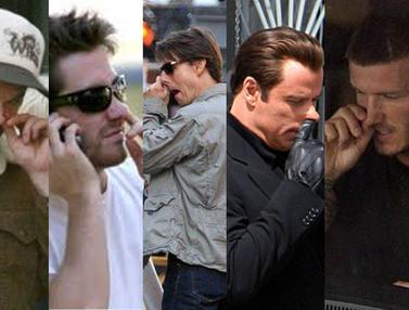 6 Aktor Hollywood Ini Kepergok <i>Ngupil</i>