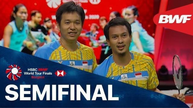 Berita Video Mohammad Ahsan / Hendra Setiawan Lolos ke Final BWF World Tour Finals Usai Kalahkan Wakil Korea Selatan